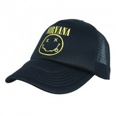 Бейсболка Nirvana Smile Trucker Cap