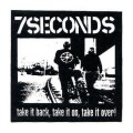 Нашивка 7Seconds Take It Back Patch