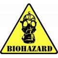 Нашивка Biohazard Patch
