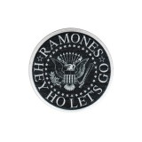 Нашивка Ramones Hey Ho Let's Go Embroidered Patch