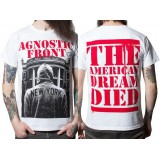 Футболка Agnostic Front The American Dream Died T-Shirt