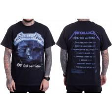 Футболка Metallica Ride The Lightning Tracks T-Shirt