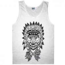 Майка Wolves Clothing Indian Wolf Tank Top
