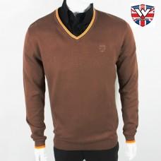Свитер Warrior Clothing Pullover Brown
